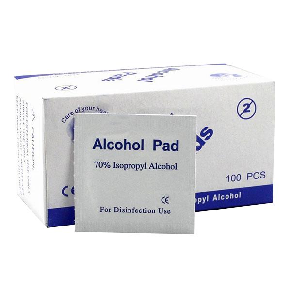 Дезинфицирующие салфетки Alcohol Pads, 100 шт