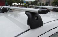 Багажник на крышу Skoda Fabia MK1, Amos Beta, крыловидные дуги