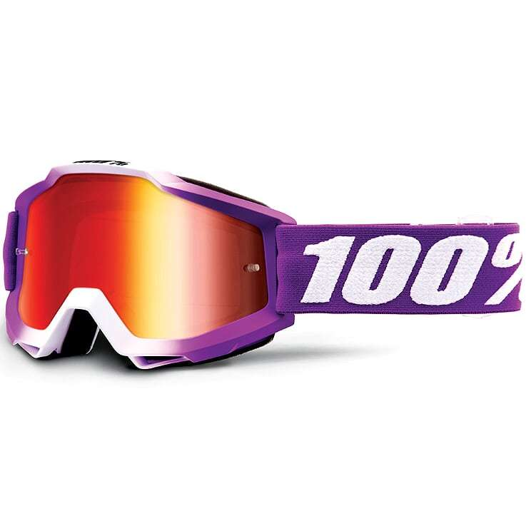 100% - Accuri Framboise Mirror Lens, очки, зеркальная линза