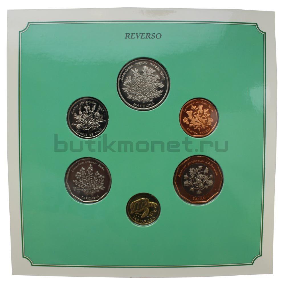 Набор монет 1994 Кабо-Верде Растения (6 штук)