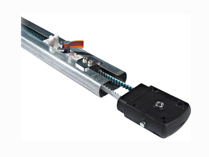 V0686 Профиль направляющий с ременной передачей для ворот высотой до 2,7 м (001V0686)