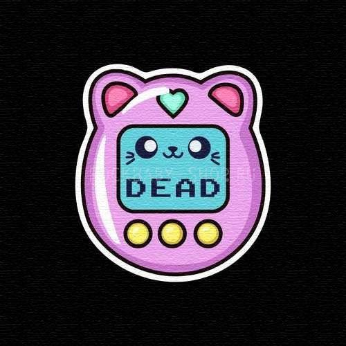 Деревянный значок Dead
