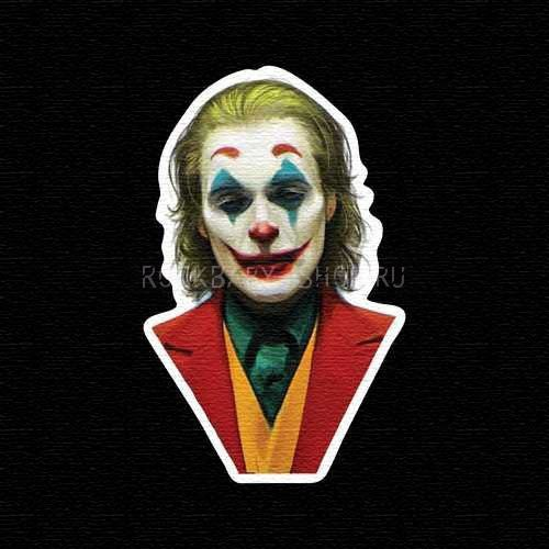 Деревянный значок Joker