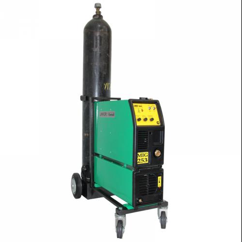 Сварочный полуавтомат 1 - 3 фазный ПДГ-253ИПТ (тележка под газовый баллон)