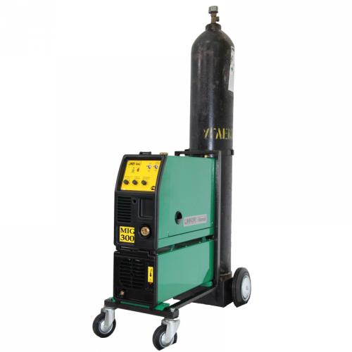 Сварочный полуавтомат 1 - 3 фазный ПДГ-300ИПТ (тележка под газовый баллон)