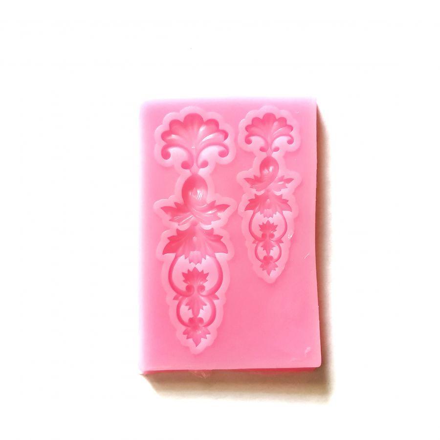 Молд силиконовый «Цветочный микс», 7,7*5 см