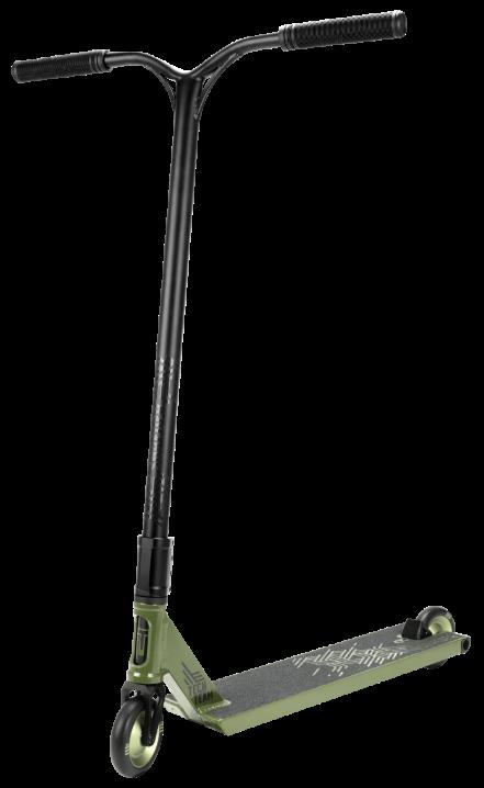 Самокат трюковый TT SHREDER (2021) зеленый