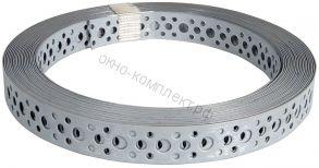 Перфорированная лента (прямая) ОЦ 25*0,55 (25м)