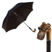 Зонт-трость Pasotti Schnauzer Cetrio Blu