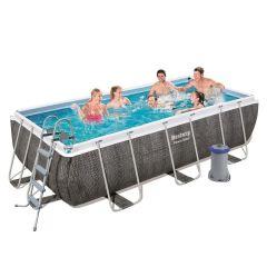 Каркасный бассейн Bestway 56722 (412х201х122) с картриджным фильтром