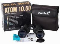 Бинокль Levenhuk Atom 10x50 - комплектация