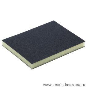 Губка шлифовальная двусторонняя Mirka 120 х 98 х 13 мм P180 комплект 100 шт 8790700112