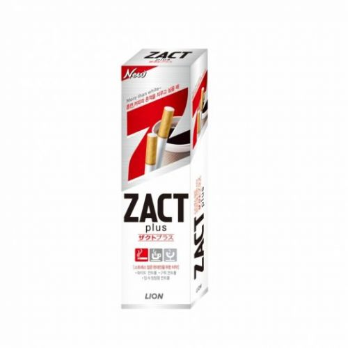 603849 LION Зубная паста от табачного налета Zact lion toothpaste 150g