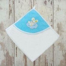 Полотенце для купания Мамин Малыш 01889-5 вышивка зайчик