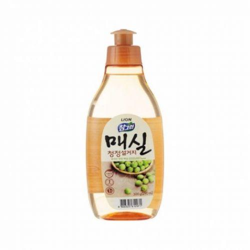 612971 LION Жидкость для мытья посуды с запахом абрикоса Chamgreen J.Apricot 300g bottle