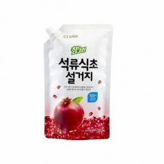 610342 LION Жидкость для мытья посуды с запахом граната Chamgreen 900g refill (pomegranate)