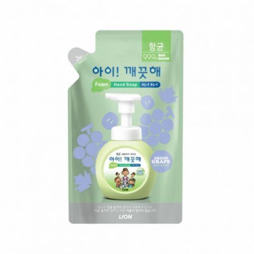 608127 LION Пенное мыло для рук с орехом Ai kekute Foaming handsoap Muscat 200ml refill