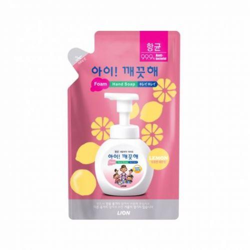 600978 LION Пенное мыло для рук с лимоном Ai kekute Foaming handsoap Lemon 200ml refill