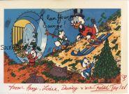 Автографы: Алан Янг, Расси Тейлор. Утиные истории / DuckTales. Редкость