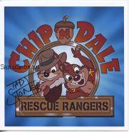 Автограф: Тэд Стоунс. Чип и Дейл спешат на помощь / Chip «n» Dale Rescue Rangers