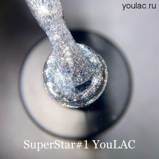 Гель- лак SuperStar 1, 10 мл