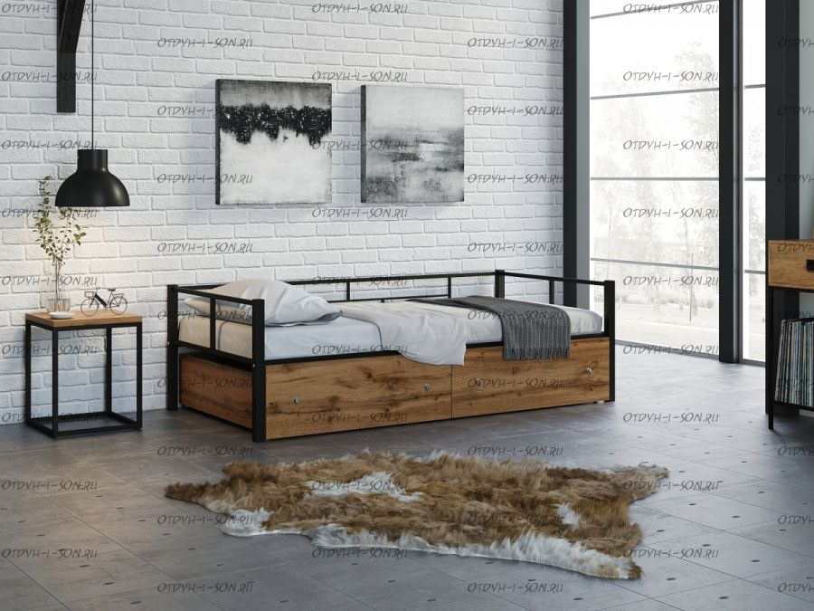 Кровать Арго Лофт (90х190)