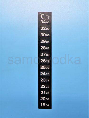 Термометр полоска