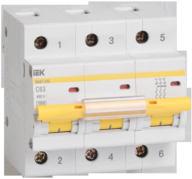 Автоматический выключатель IEK MVA40-3-016-C