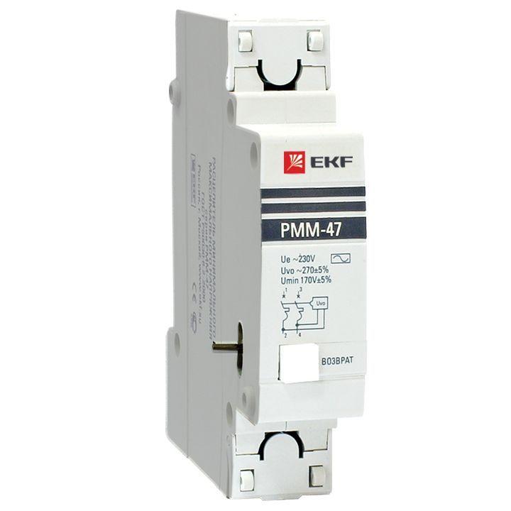 EKF PROxima РММ-47 Расцепитель минимального и максимального напряжения mdrmm-47-pro