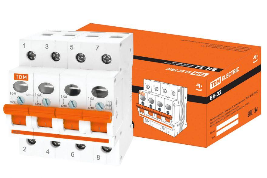 Выключатель нагрузки TDM ВН-32 SQ0211-0040