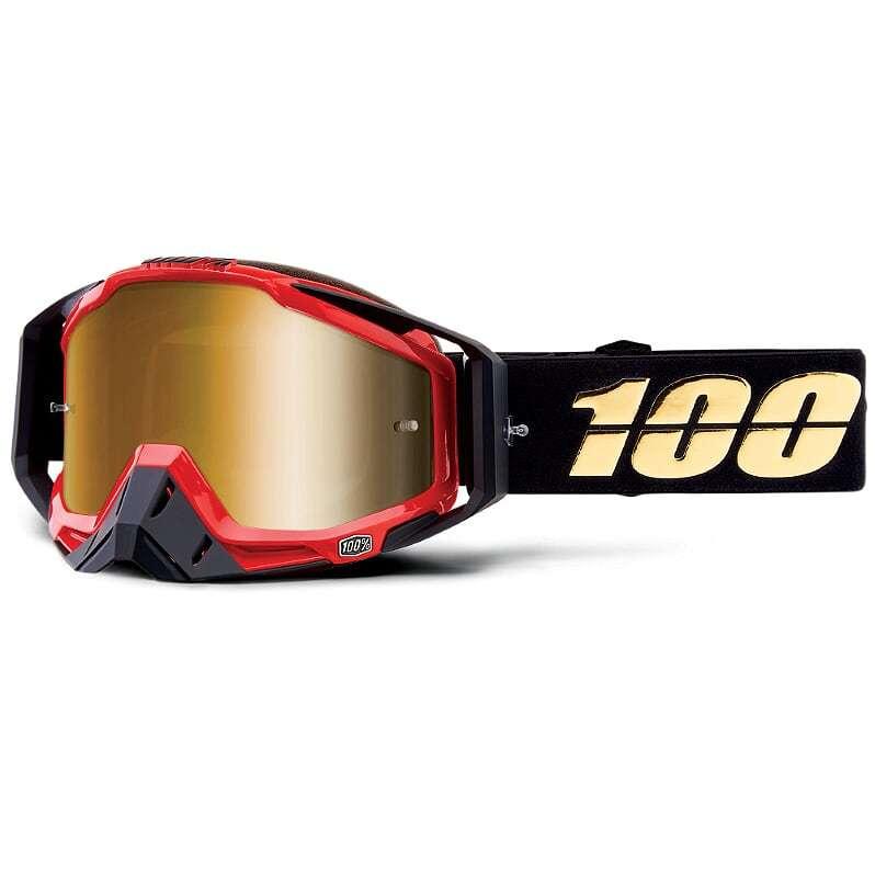100% - Racecraft Hot Rod Mirror Lens, очки, зеркальная линза