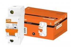 Автоматический выключатель TDM ВА47-100 SQ0207-0003