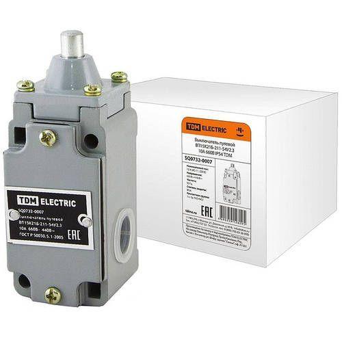 Выключатель путевой контактный TDM ВП15 SQ0732-0007