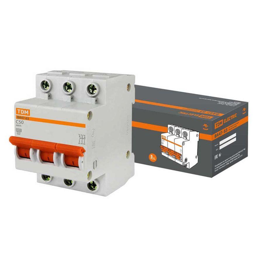 Автоматический выключатель TDM ВА47-63 SQ0218-0023