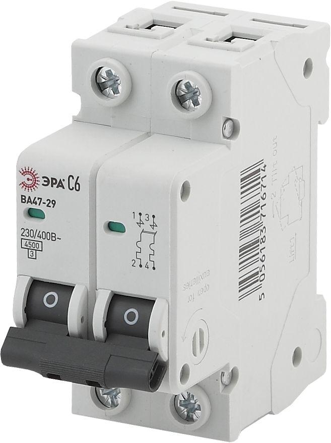 Автоматический выключатель ЭРА ВА47-29 NO-902-108
