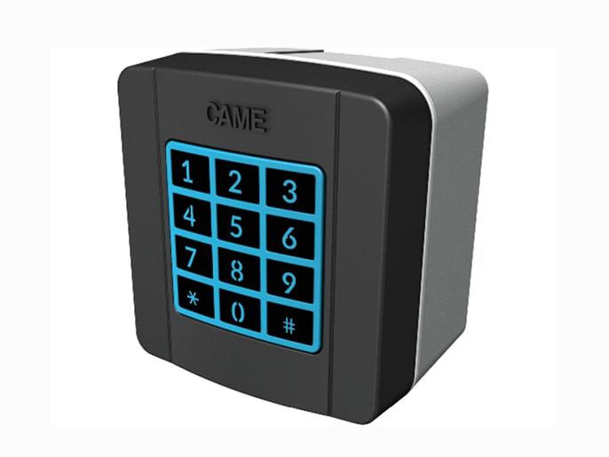 SELT1NDG Клавиатура кодонаборная накладная с синей подсветкой (806SL-0150)