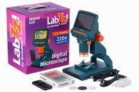 Микроскоп цифровой Levenhuk LabZZ DM200 LCD  - упаковка