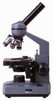 Микроскоп Levenhuk 320 PLUS, монокулярный - вид сбоку