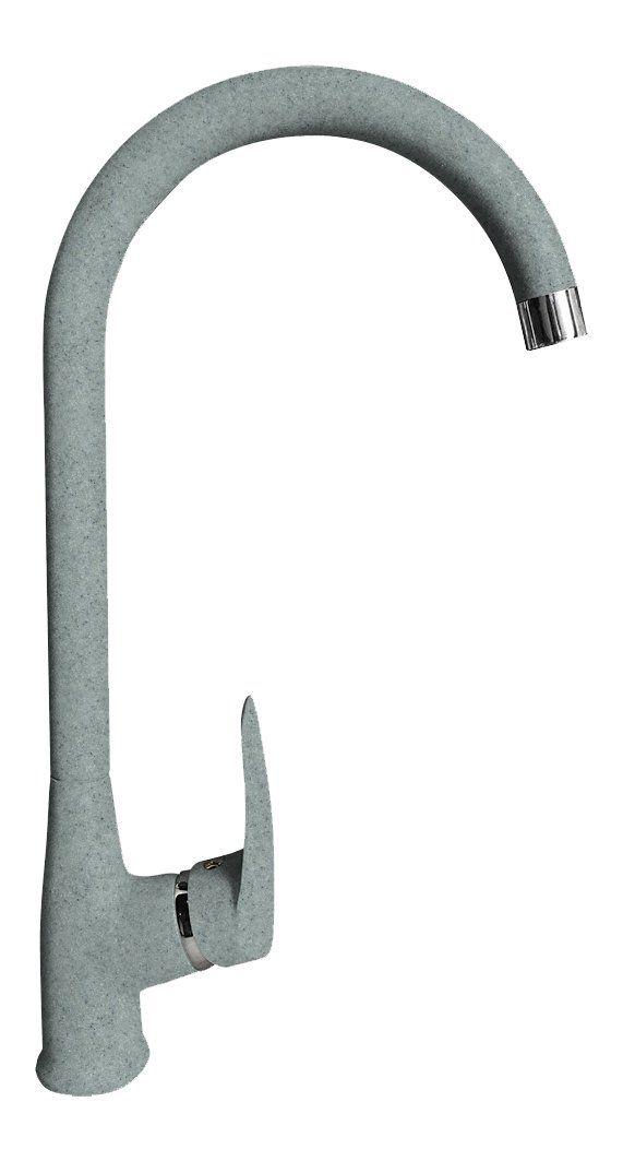 Смеситель для кухни GranFest Quarz Z3424 Серый