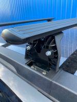Багажник на крышу Haval H5 2020-..., Lux, черные крыловидные дуги
