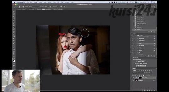 Actions для Photoshop + пресеты для Alien Skin Exposure X2 + подробный видеоурок (Валентин Христич)
