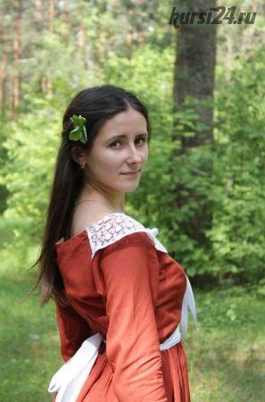 Девушка в лесу (Мария Золотова)