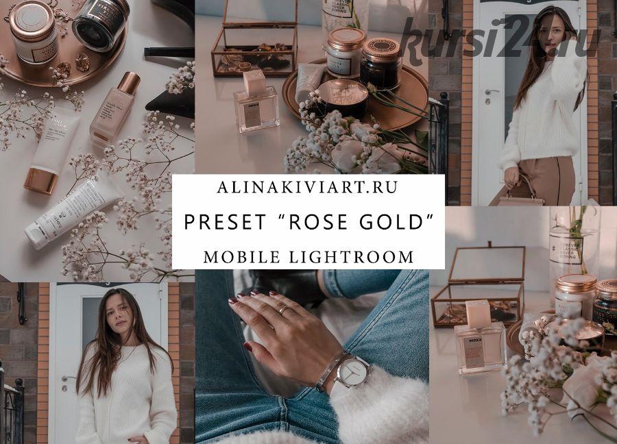 Мобильный пресет Rose & Gold 2019 (Alina Kiviart)