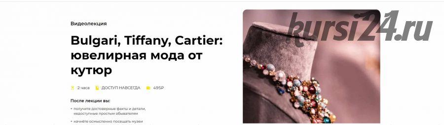 [Правое полушарие Интроверта] Bulgari, Tiffany, Cartier: ювелирная мода от кутюр (Елизавета Фандорина)