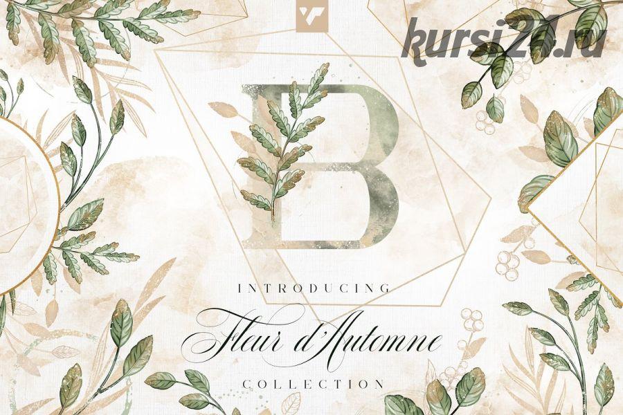 [CreativeMarket] Набор Fleur d'Automne Graphic Collection [VPcreativegraphics]
