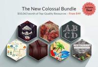 [inkydeals] Большой пакет графики. The Colossal Bundle with $10,063 worth of Premium Goodies