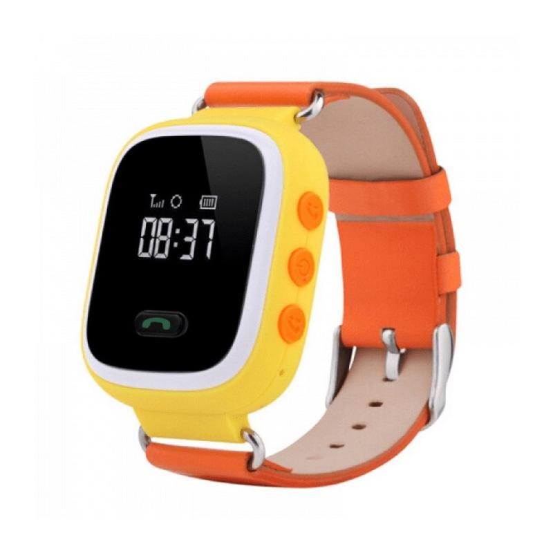 Детские умные часы Smart Baby Watch GPS Q60 GW900S, Желтый