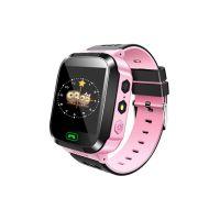 Детские смарт часы с GPS Baby Watch Q528, Розовый