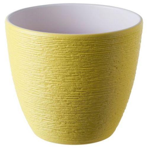SKAKIG СКАКИГ, Горшок цветочный, желтый, 15 см - 904.849.27