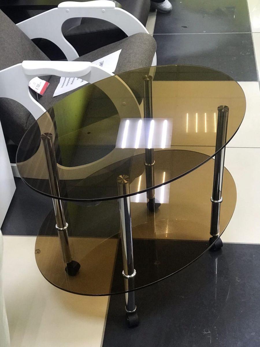 Стол журнальный Виола стеклянный